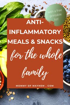 Anti Inflammatory Foods List, Anti Inflammatory Smoothie, Autoimmune Diet, Autoimmune Protocol Meal Plan, Mediterranean Diet Recipes, Diets For Beginners, Planer, Mad, Lifestyle