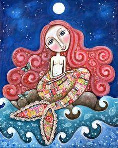 Pinzellades al món: Neptú i 12 de les seues sirenes / Neptuno y 12 de sus sirenas / Neptune and 12 his mermaids