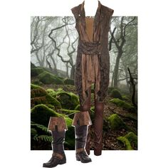 Female Radagast by greyleavesfallen on Polyvore featuring BKE and ONLY