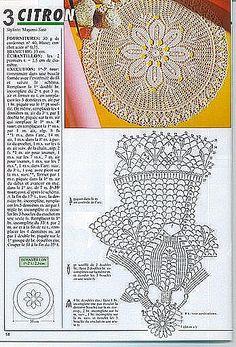 Kira crochet: Crocheted scheme no. 490