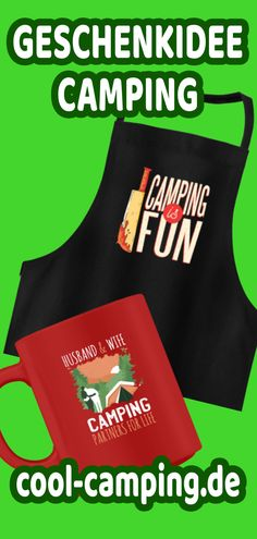 Bist du auf der Suche nach coolen und witzigen Geschenken für Camper?   In unserem Camping-Geschenkshop findest du tolle Shirts für Camper, Tassen für den Campingplatz, Schürzen für den Campinggrill - designt von Campern für Camper.  Hier findest du alles, was das Camper-Herz begehrt.  Sorge für Lacher auf dem Campingplatz. Fußmatten für Wohnmobile oder Hoodies für das Vorzelt.  Camping-Gadgets und Camping-Bekleidung WITZIG  |  COOL  |  SELBST DESIGNT  #Camping #Campingplatz #Wohnwagen…