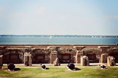 Fort Sumter, Charleston, SC. Another neat place Uncle Lyle took us. Another idea for my kids.