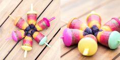 Regenboog ijsjes maken Kiwi, Fruit, Desserts, Food, Tailgate Desserts, Deserts, Essen, Postres, Meals
