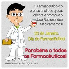 20 de Janeiro Dia do Farmacêutico