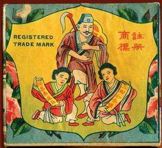 LUEN CHONG TAI TEA CO.- c. 1930s tea box label