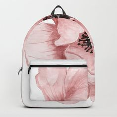 Flower 21 Art Backpack by hovo Cute Backpacks For Traveling, Cute Mini Backpacks, Stylish Backpacks, Girl Backpacks, Bags For Teens, Girls Bags, Fashion Bags, Fashion Backpack, Fashion Outfits