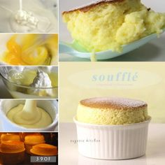 Vanilla Soufflé Making soufflé is easier than you think. Make this delicious French at home and please everyone.Making soufflé is easier than you think. Make this delicious French at home and please everyone. Vanilla Souffle Recipes, Flan, Sorbet, Just Desserts, Dessert Recipes, French Desserts, Dinner Recipes, Mousse, Trifle