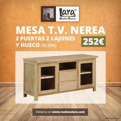 Entra en nuestra tienda online y elige la tuya. #mueblesrusticoslara #rusticoslara #mueblesonline #mueblesencrudo #mueblesdecalidad #hierroforjado #esparto #mesadetv #mesaparatv #mesaparasalon #mueblesmaderapino #mueblespinturalatiza #mueblessinmontaje Raw Furniture, Furniture Making, Natural Wood, Ideas, Rustic Furniture, Tv Unit Furniture, Drawers, Thoughts
