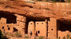 Colorado Springs Area: Anasazi Dwellings At The Manitou Cliff Dwellings