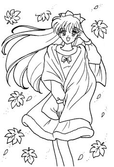 Sailor Moon Coloring Pages, Coloring Pages For Girls, Colouring Pages, Coloring Books, Kids Background, Ariel The Little Mermaid, Sailor Mars, Classic Cartoons, Manga