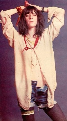 how to cut your hair like patti smith