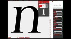 Explora, modifica, compara y exporta diseños de tipografías #typography