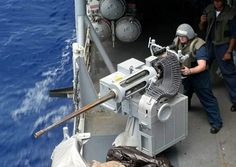 Cruisers and destroyers such as the Port Royal and Hopper carry eight terminal-range weapons systems: two Phalanx 20mm cannon primarily used for antimissile defence, two Bushmaster 20mm cannon, and four portable / mountable .50-calibre machine guns. - Image - Naval Technology