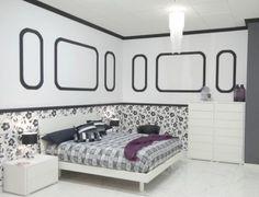 molduras: blanco y negro