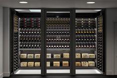bespoke wine cellar display london