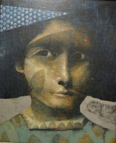 Taiteilija: Sabogal Joselito  Teosnimi: Que el silencio sea tu voz  Tekniikka: öljy  Koko: 27x22 cm (kehyksineen 35x30 cm)  Vuosi: 2007  Lainahinta: 20 €/kk  Hinta: 600 €  Status: Lainassa