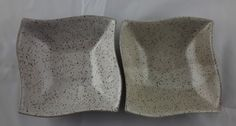 With their speckled finish and wave form these food-safe, microwave/dishwasher-safe bowls will hold everything from soup to nuts. The speckles are part of the clay body of the bowls and permeate through the white glaze.   A New York native, Caroll Hightower now has her studio in Colorado Springs, CO.  Carroll was introduced to pottery while volunteering at the Colorado Springs Senior Center.