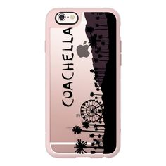 iPhone 6 Plus/6/5/5s/5c Case - Coachella found on Polyvore featuring accessories, tech accessories, phone cases, phones, iphone case, iphone cover case, iphone hard case and apple iphone cases