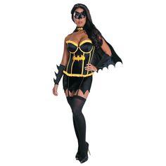 Deluxe Batgirl Halloween Costume for Women - Medium