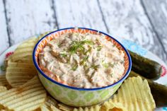 This dill pickle dip is tangy and creamy with hints of taco flavor. Check out my blue ribbon winning recipe to see how easy this is to make! Cheese Appetizers, Appetizer Dips, Appetizer Recipes, Appetizers Superbowl, Cheesy Recipes, Dip Recipes, Cooking Recipes, Frosting Recipes, Football Party Food Menu