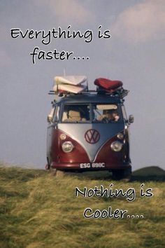 Everything is Faster; Nothing is Cooler...