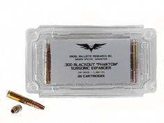 "Ammunition - EBR .300 Blackout ""Phantom"" Subsonic Expander Ammunition. clarkarmory.com"