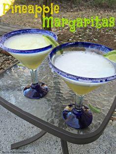 Pineapple Margaritas - The So-Called Homemaker