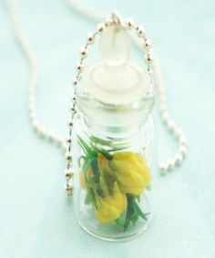 pineapples in a jar necklace