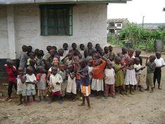 Kenya, Africa - 2002 - 2005;  this photo is almost like the one I took when living in Siaya, Kenya.