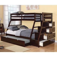 Bedroom Twin over Full Bunk Bed Configurations for Different Rooms Twin Over Full Bunk Bed L Shape. Twin Over Full Bunk Bed Badcock. Twin Over Full Bunk Bed Dimensions. Elise Twin Over Full Bunk Bed Mahogany. Twin Over Full Bunk Bed Plans Diy. Twin Full Bunk Bed, Full Size Bunk Beds, Bunk Bed Sets, Triple Bunk Beds, Bunk Beds With Storage, Bunk Bed With Trundle, Cool Bunk Beds, Kids Bunk Beds, Bed Storage