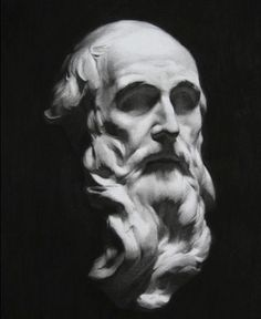 Charcoal cast drawing