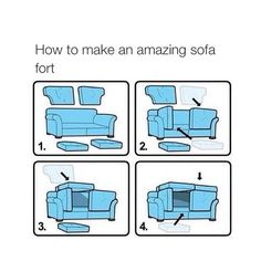 Funny pictures about Ikea Sofa Fort. Oh, and cool pics about Ikea Sofa Fort. Also, Ikea Sofa Fort photos. Sofa Fort, Build Your Own Sofa, Do It Yourself Inspiration, 1000 Life Hacks, Easy Life Hacks, Awesome Life Hacks, Summer Life Hacks, Thing 1, Fun Activities