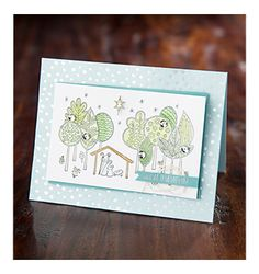"""Stampin' Up! - Remember Him Card (5-1/2"""" x 4-1/4"""")"""