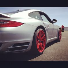 Porsche 997 Turbo S w/ GT3RS conical wheels - @exoticsracing- #webstagram