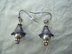 Mother's Day: Lucite Gunmetal Earrings in Beautiful Spring Colors. FAST SHIPPING.