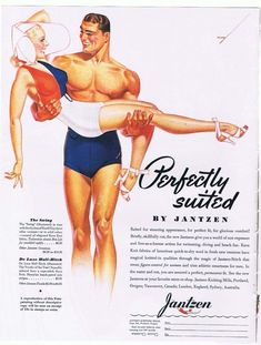 PIN UP GIRLS IN VINTAGE ADS: When Advertising Boasted of Curves | Perfectly Suited