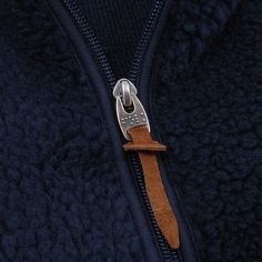 Attention to detail and bold styling are the key ingredients to every Folk collection and is evident here in this mid-season Fleece Jacket. A new addition to the Folk catalogue, the jacket uses a Deep Sea Blue Polyester in its construction off-set by stripe cuff and hem detailing and tonal navy trim.