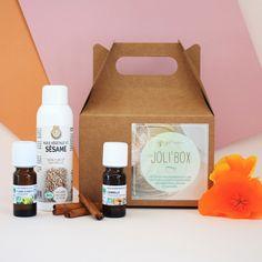 Joli'box Aphrodisiaque : Les sens...ciel ! 14.50 € le coffret pour réaliser des massages sensuels à votre amoureux...
