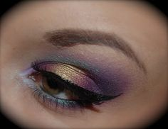 AliciaD372 : Galaxy Makeup Tutorial