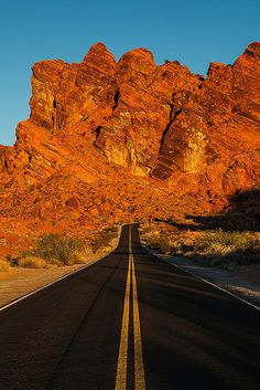 Sunrise Fire Valley Of Fire State Park Overton, Nevada