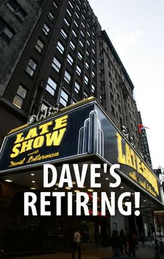 Longtime late night talk show host David Letterman announced on April 3 that he will retire from the Late Show in 2015, after decades in the business.  http://www.recapo.com/live-with-kelly-ripa/live-with-kelly-news/david-letterman-retiring-2015-new-york-mets-paternity-leave/