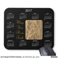 2017 Angel of Faith Calendar by Janz Mouse Pad