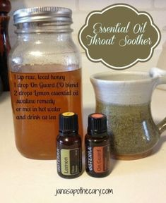 A teaspoon of honey, 1 drop on guard and 2 drops lemon essential oils has worked like a charm! by kristy