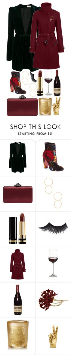 """I've got this figured out"" by pulseofthematter ❤ liked on Polyvore featuring Yves Saint Laurent, Christian Louboutin, Nordstrom, Ettika, Gucci, Burberry, Crate and Barrel, Oscar de la Renta and Cire Trudon"
