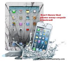 Don't just throw your old phone rather get it repaired and make money from it by selling. Out of Warranty is a cell phone repair shop, specialized in repairing smartphone repair and tablets that are broken, water damaged and non-functioning. Visit https://www.outofwarranty.com/