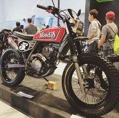 Street Tracker Motorcycle Inspiration 38