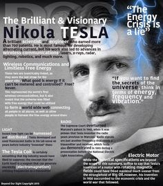 Nikola Tesla: The most overlooked brilliant scientist in America Nikola Tesla Quotes, Nicola Tesla, Tesla Coil, E Mc2, Quantum Physics, Physicist, Stephen Hawking, Fun Facts, Knowledge