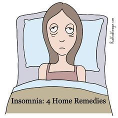 Post image for Insomnia: 4 Home Remedies