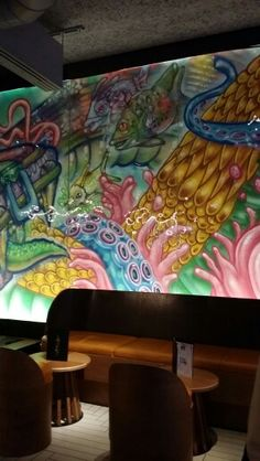Amara Por Dios & Flesh 031 = Godsflesh at Restaurant Chotto Matte Soho London Photo By Veronica Lidström Joannides