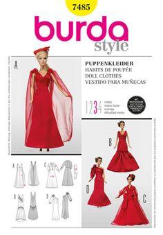 Simplicity Creative Group - Burda Style, Doll Clothes